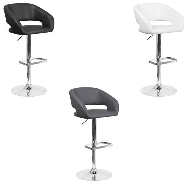 Mod Bar Stools - V-Decor Trade Show Furniture Rentals