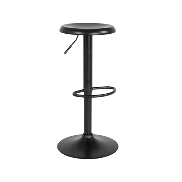 Orbit Adjustable Bar Stool - Black