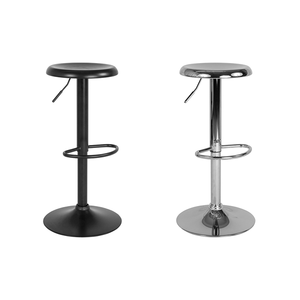 Orbit Adjustable Bar Stools - V-Decor Trade Show Furniture Rentals in Las Vegas