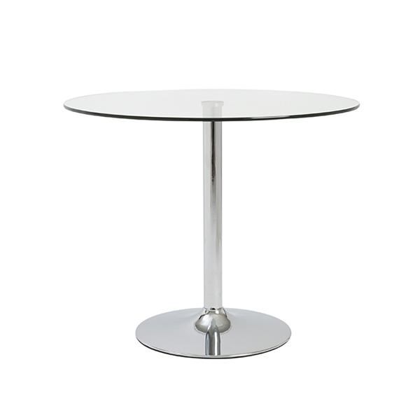 Talia 36in Cafe Table - V-Decor Trade Show Furniture Rentals in Las Vegas
