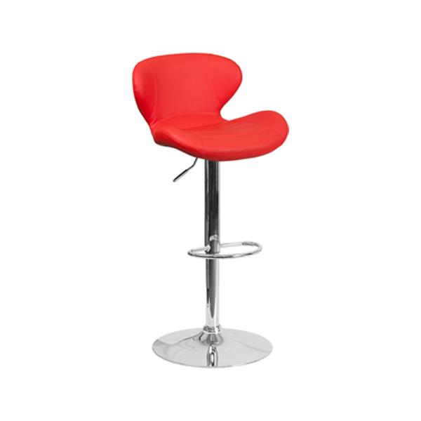 Tempo Bar Stool - Red