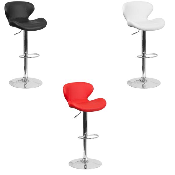 Tempo Bar Stools - V-Decor Trade Show Furniture Rentals in Las Vegas