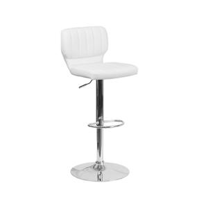 Vert Bar Stool - White