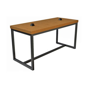 Volt Pyramid USB Bar Table - Cherry-Black