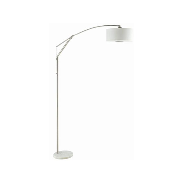 Arch Floor Lamp - White