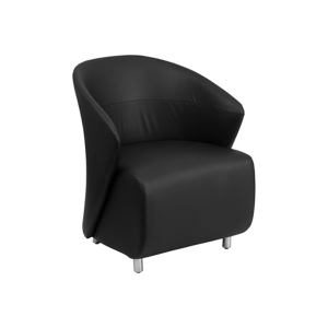 Barrel Lounge Chair - Black