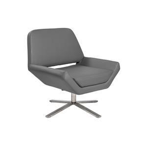 Carlotta Lounge Chair - Gray