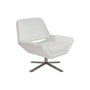 Carlotta Lounge Chair - White