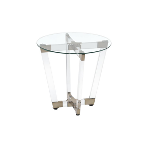 Coco End Table - V-Decor Trade Show Furniture Rentals in Las Vegas