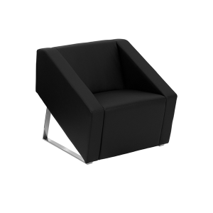 Angle Lounge Chair - V-Decor Trade Show Furniture Rentals in Las Vegas