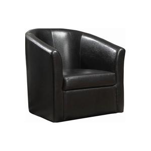 Dezi Lounge Chair - Black