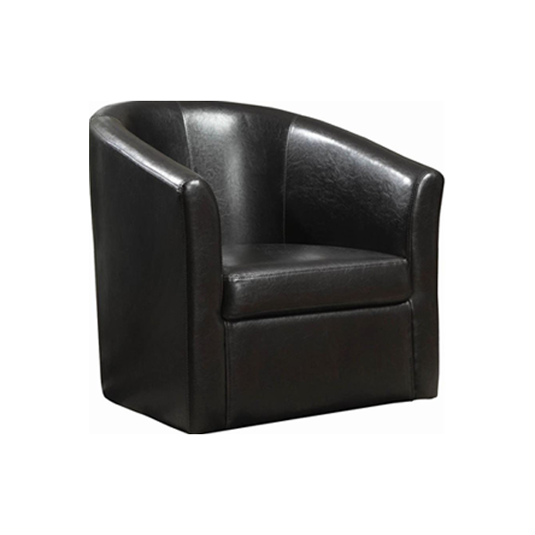Dezi Lounge Chair - Black
