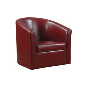 Dezi Lounge Chair - Red