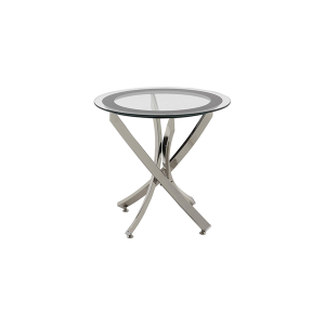 Griffin End Table - V-Decor Trade Show Furniture Rentals in Las Vegas