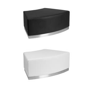 Melrose Backless Convex Bench - V-Decor Trade Show Furniture Rentals in Las Vegas