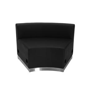 Melrose Concave Lounge Chair - Black