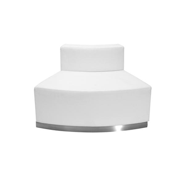Melrose Convex Lounge Chair - White