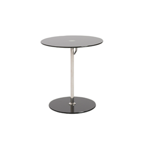 Radin Adjustable End Table - Black
