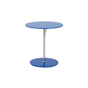 Radin Adjustable End Table - Blue