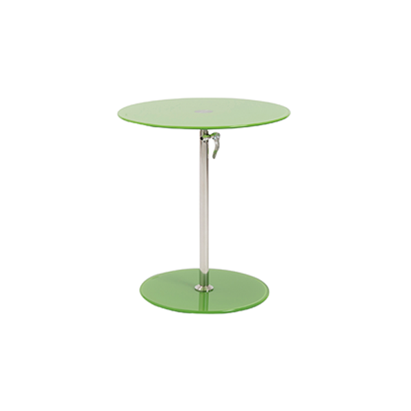 Radin Adjustable End Table - Green