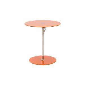 Radin Adjustable End Table - Orange