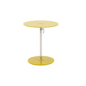 Radin Adjustable End Table - Yellow