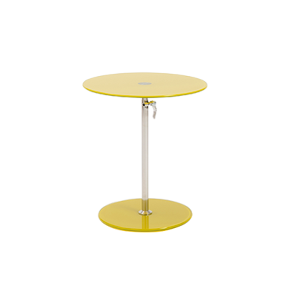 Radin Adjustable End Table - Yellow
