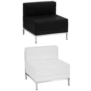 Tampa Armless Lounge Chairs - V-Decor Trade Show Furniture Rentals in Las Vegas