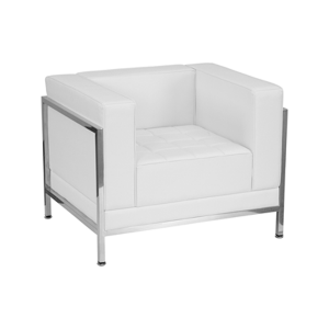 Tampa Lounge Chair - White