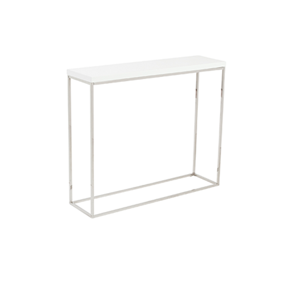 Teresa Sofa Table - White