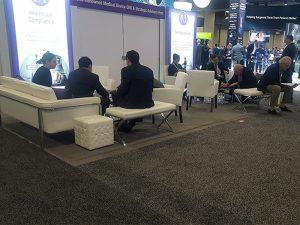 Trade Show Furniture Rental Tip 2 - Comfort is Key - V-Decor Event Furnishings in Las Vegas
