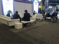 Trade Show Furniture Rental Tip 2 - Comfort is Key - V-Decor Event Furnishings in Las Vegas