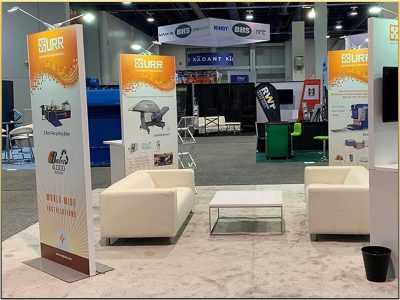 Recent Las Vegas Trade Show Furniture Rental Projects